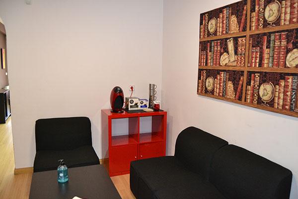 Sala de espera Emociona Psicología.